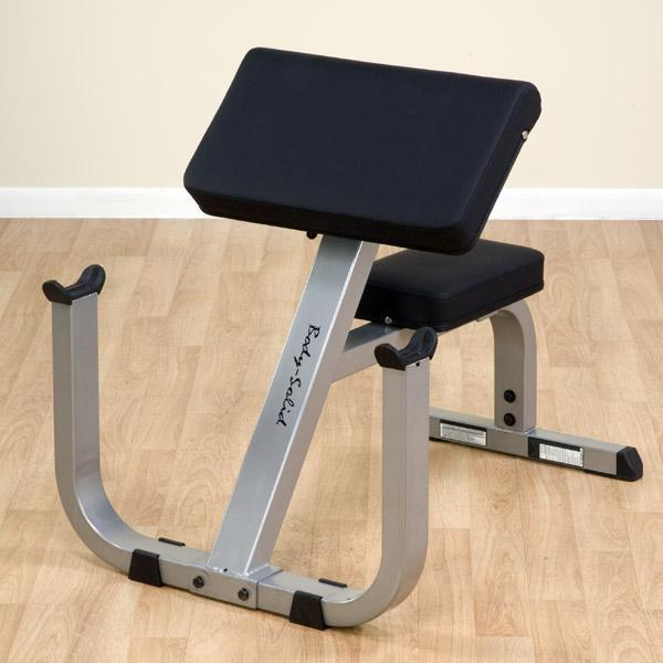 Body Solid GPCB329 Preacher Bench