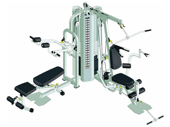 Healthstream 2060 Home Gym - 2 x 200lb