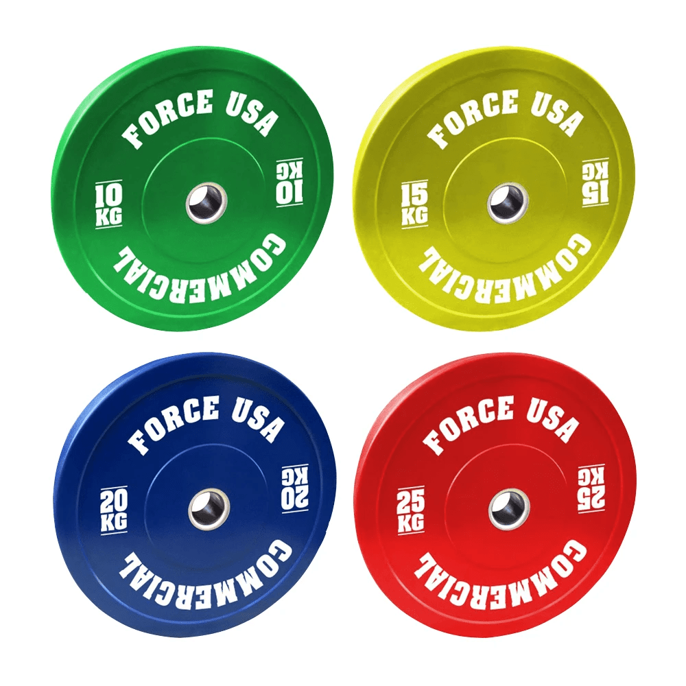 Force USA 160kg Pro Bumper Plate Package 5