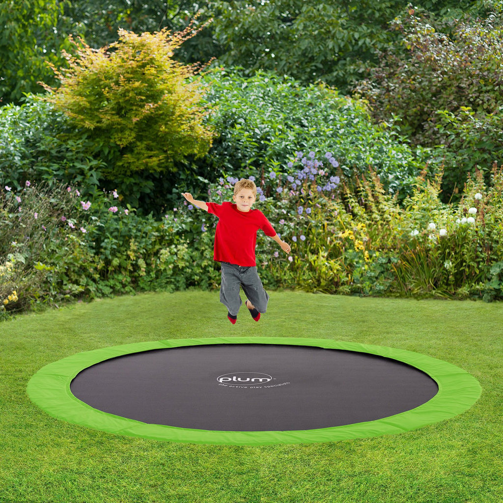 Plum® 8ft Circular In-Ground Trampoline