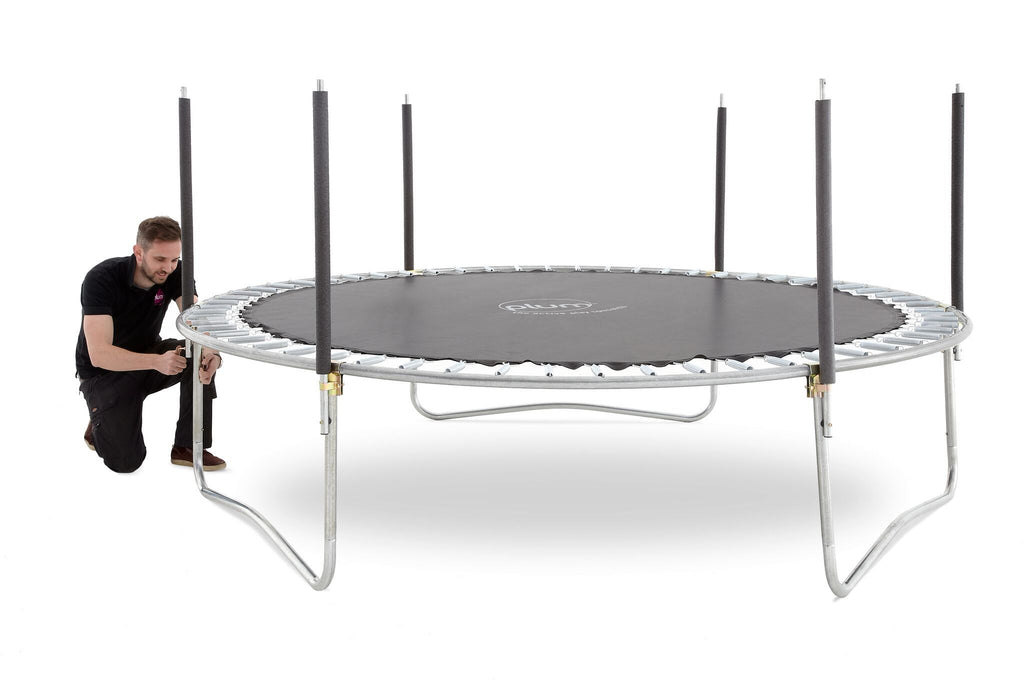 Plum® 12ft Space Zone Spring Safe®  Trampoline