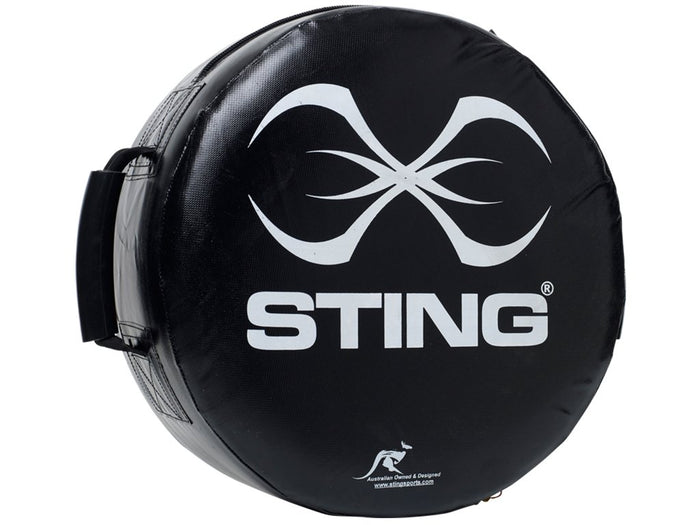 Round HD Bump/Strike Shield - Black