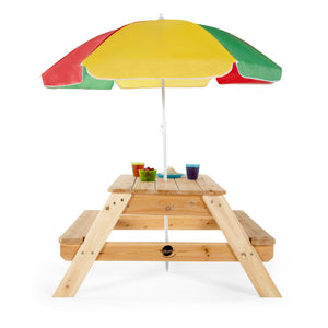 Plum® Picnic Table with Umbrella