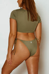 RIPTIDE BOTTOM // OLIVE