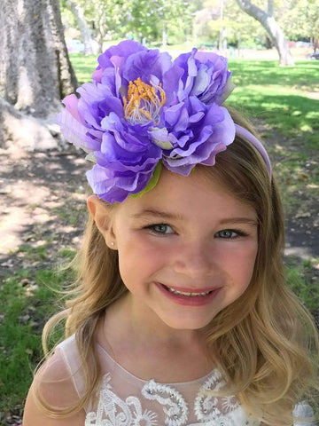 Cabbage Flower Girl Headband