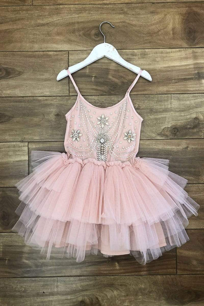 Champagne Tutu Dress blush