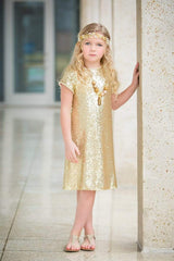 Glamours Sequin Shift Dress