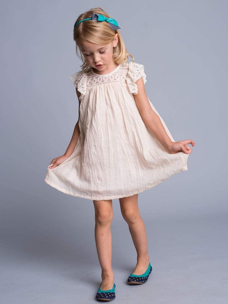 Lace Crinkle Lace Dress