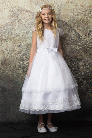 Lace Organza Dress