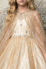Princess Glitter Cape