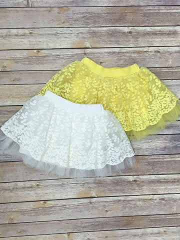 Sweet lace tutu skirt