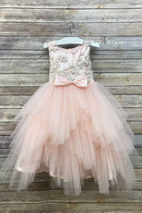 Tutu Style Dress with Sequin top
