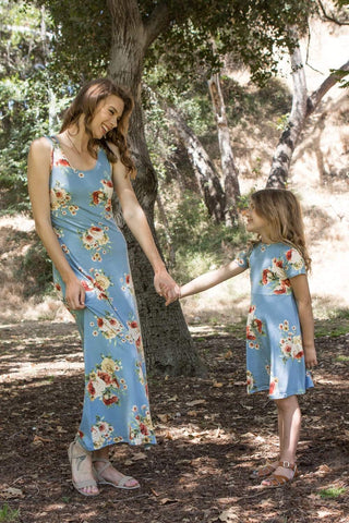 Wildflower blooms Mom and Me matching Set