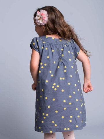 Yellow Lady Bug Dress