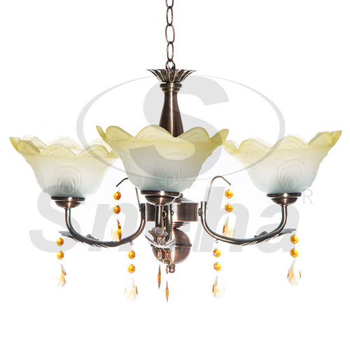 SNEHA Metal 3 Arms E27 RAB Pendant Light