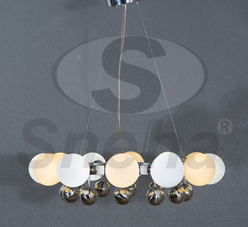 SNEHA Metal Single G9 Chrome Pendant Light