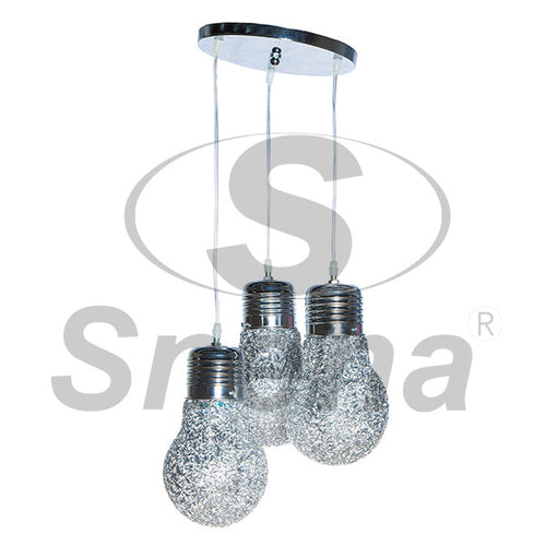 SNEHA 3 Drop E27 Pendant Light