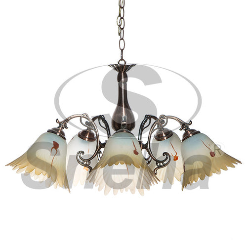 SNEHA Metal 5 Arms E27 RAB Pendant Light