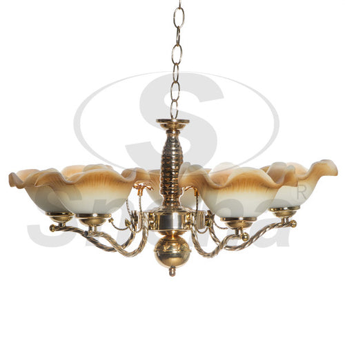 SNEHA Metal 5 Arms E27 French Gold Pendant Light