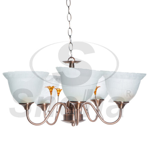 SNEHA Metal 5 Arms E27 ACP Pendant Light