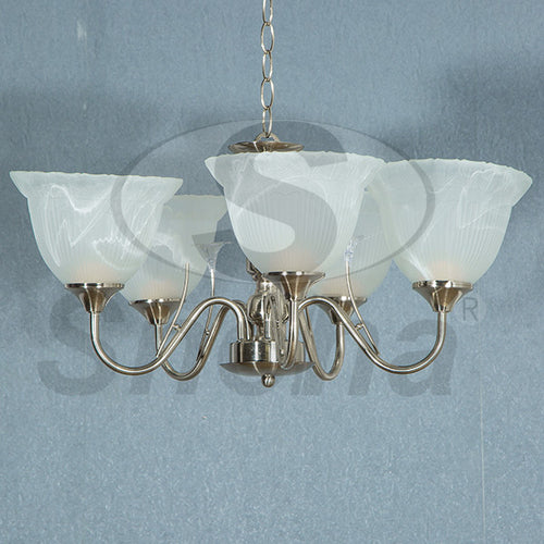 SNEHA Metal 5 Arms E27 SN Pendant Light