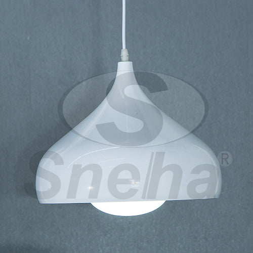 SNEHA Kitchen Light Single E27 White Pendant Light