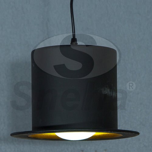 SNEHA Kitchen Light Single E27 Black Pendant Light