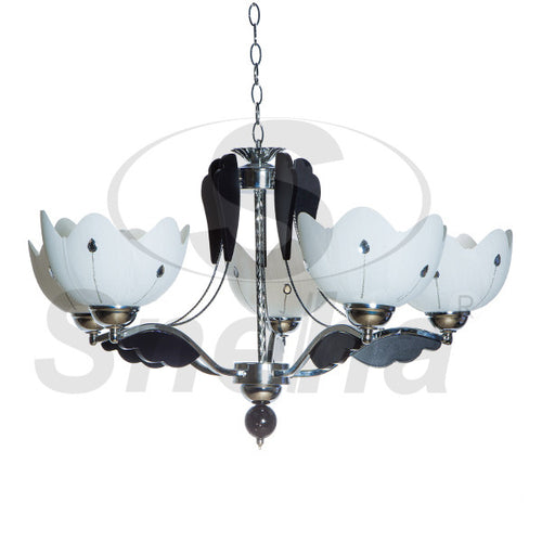 SNEHA Metal 5 Arms E27 Pendant Light