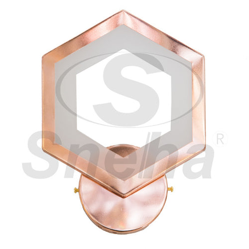 SNEHA LED Rose Gold Wall Light