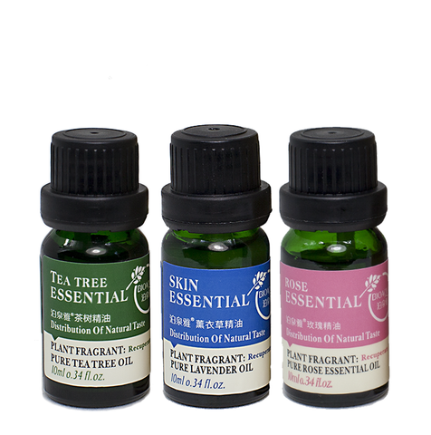 Vintage Pure Lavender, Rose & Tea Tree Oils