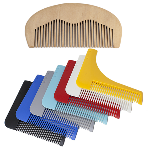 Beard Comb + Sandalwood Comb Set