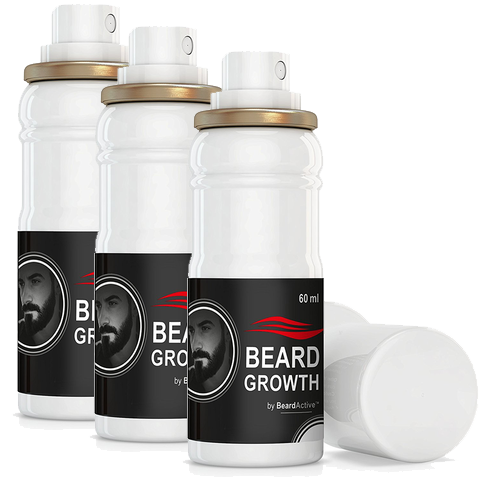 3 Pack of Beard Growth Spray