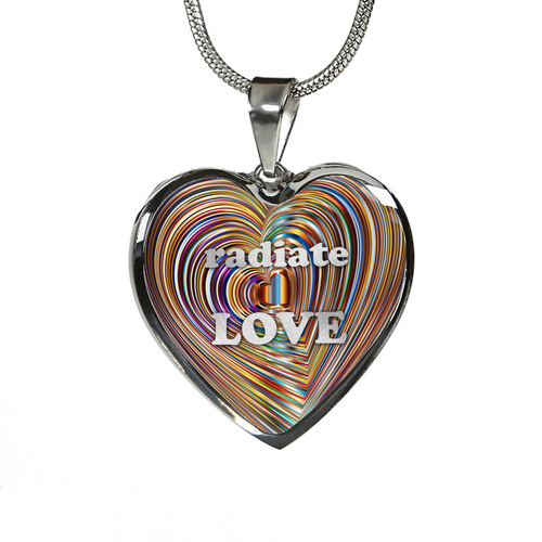 Radiate Love Necklace/Bangle
