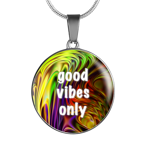 Good Vibes Only Necklace/Bangle