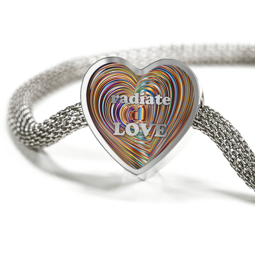 Radiate Love Luxury Charm Bracelet