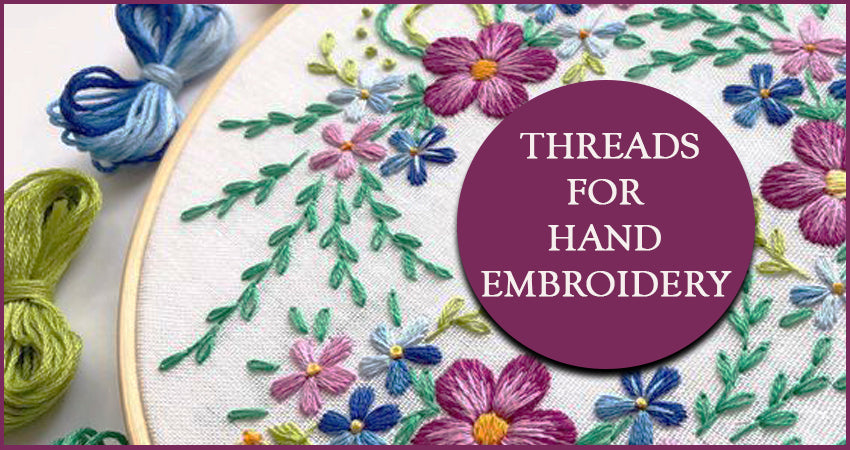 Threads For Hand Embroidery