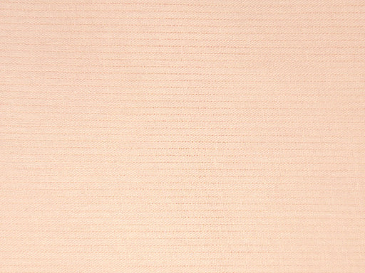 Light Peach Self Stripes Cotton Fabric