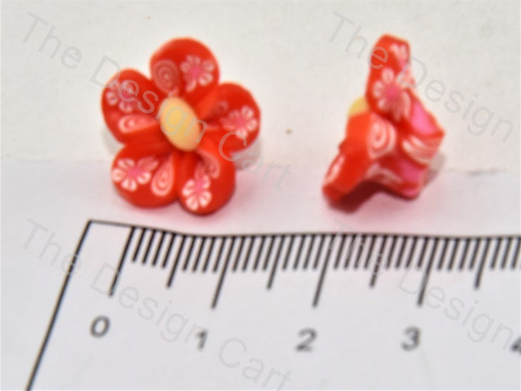 Red Baby Flower Plastic Stones - The Design Cart (391654178850)