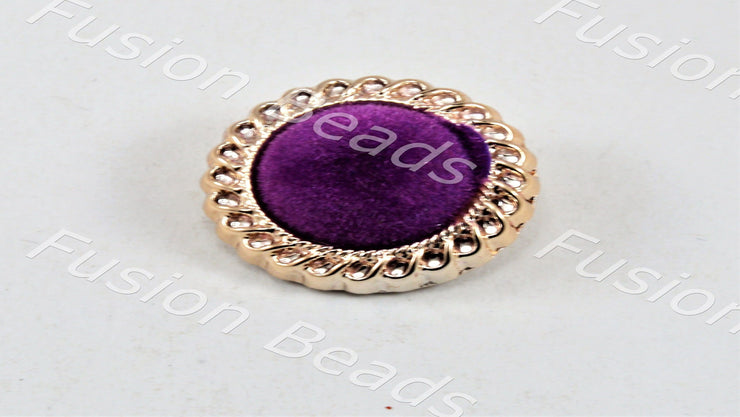 Purple Velvet Button (11871440403)