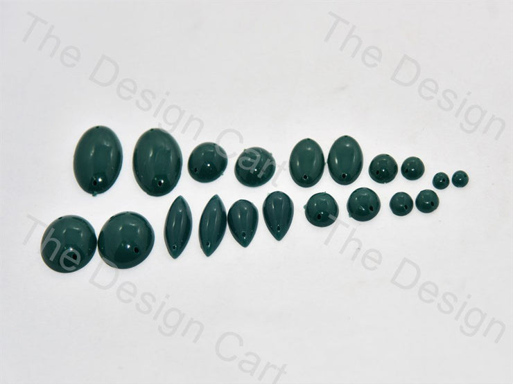 Teal Bubble Plastic Stone (395697946658)