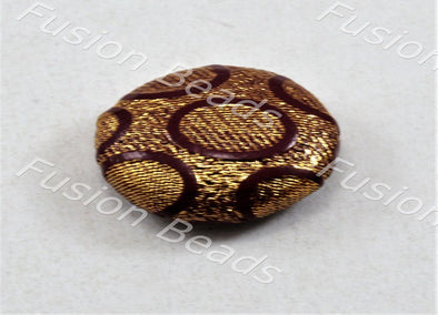 Design 65 Style Fabric Button