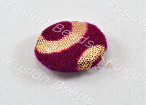 Design 69 Style Fabric Button