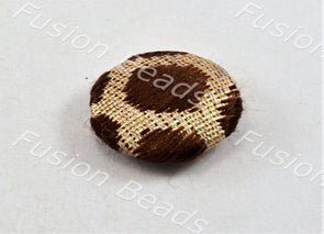 Design 82 Style Fabric Button