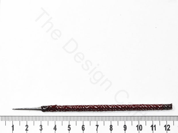 Maroon Designer Aari Needles | The Design Cart