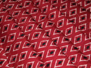 Red Kites Design Cotton Fabric (1567420809250)