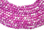 Pink White Spherical Glass Pearls | The Design Cart