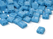 Blue Brick Shaped Czech Glass Beads | The Design Cart (1722764099618)