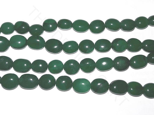 Green 2 Semi Precious Quartz Tumble Beads