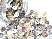 Multicolour 2 Hole Polyester Shirt Buttons | The Design Cart (1824963723298)