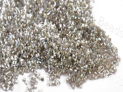 Silverline Rainbow White 2 Cut Seed Beads